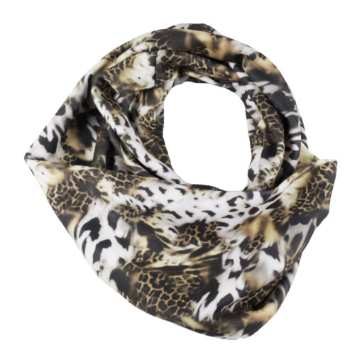 Infinity SCARF Fleece ANIMALS Multi