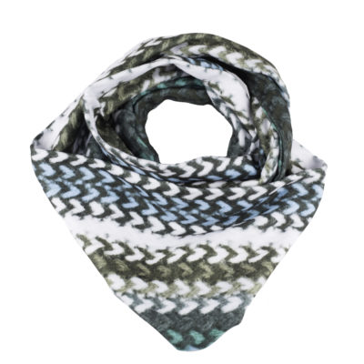 Infinity SCARF Fleece FABRIC SWKnit 2